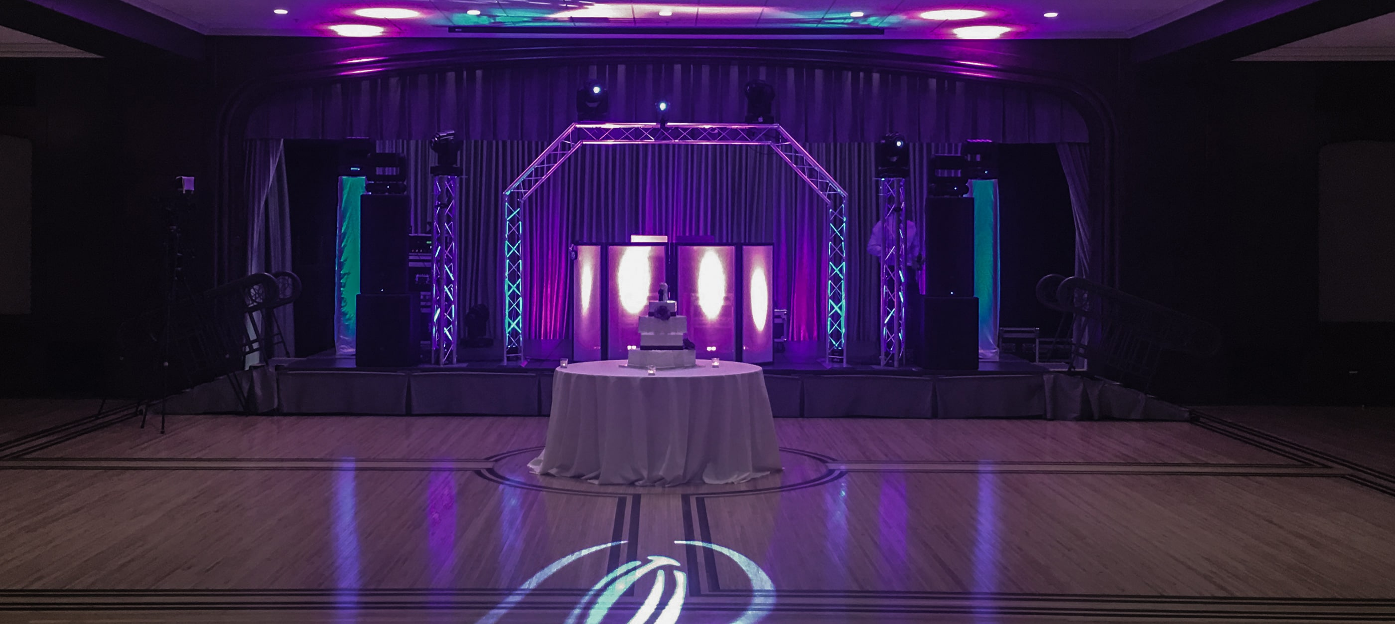 Laser Lights - Wedding Venue