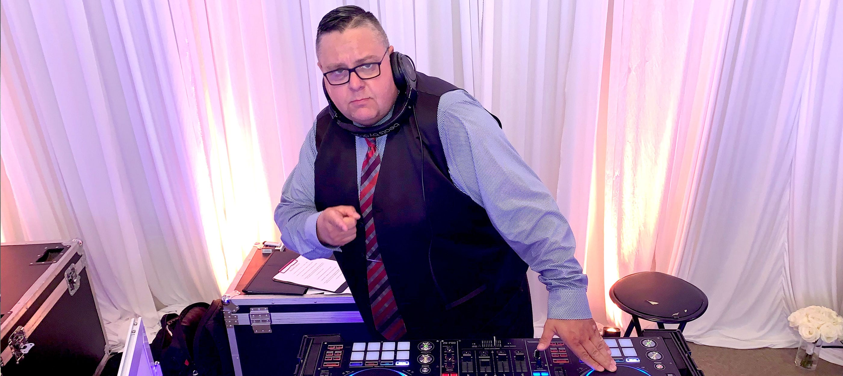 wedding slider dj kw